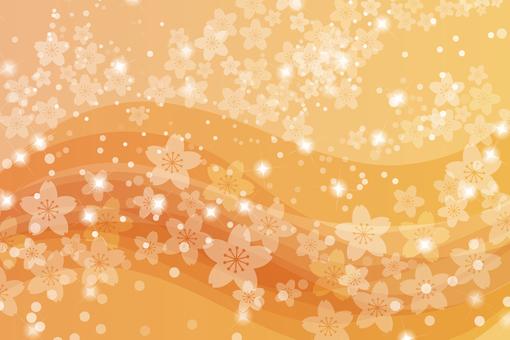 Sakura 50 - Orange Wave