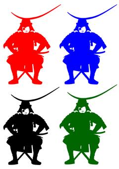 Date Masami-like silhouette 2