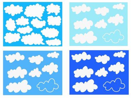 Cloud frame set