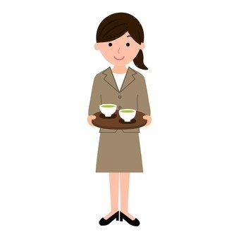 OL to serve tea