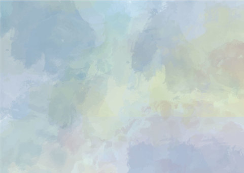 Water color background blue
