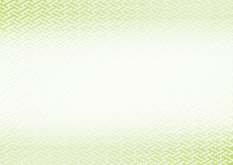 Japanese pattern - green
