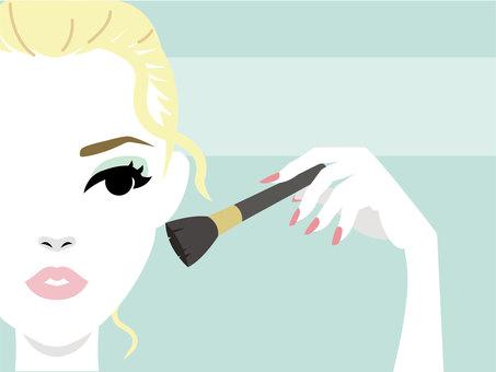 Make-up female 2
