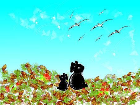 가을의 한때