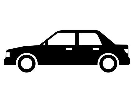 Car Sedan Silhouette