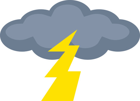 Weather icon Lightning