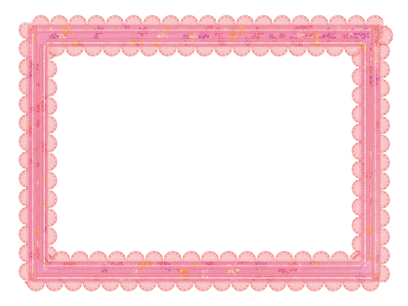 Frame Pink Ribbon