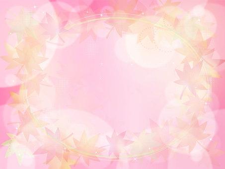 Autumn Background Pink