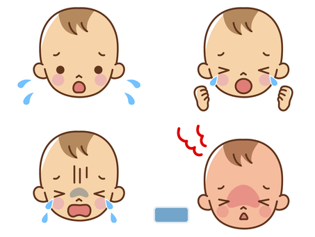 Baby moody expression set
