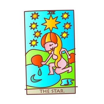 타로 카드 별