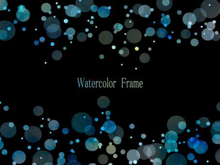 Watercolor frame ver 09
