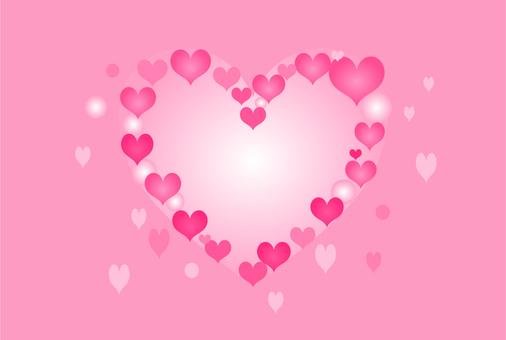 Heart heart frame
