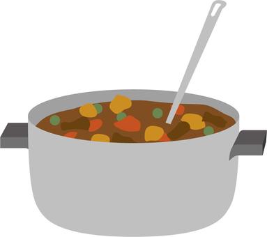 Curry pot)