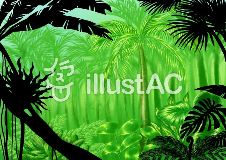 Free Cliparts jungle tropical rain forest 821138 illustAC