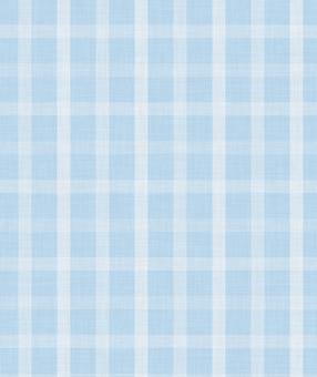 Checked cloth (light blue)