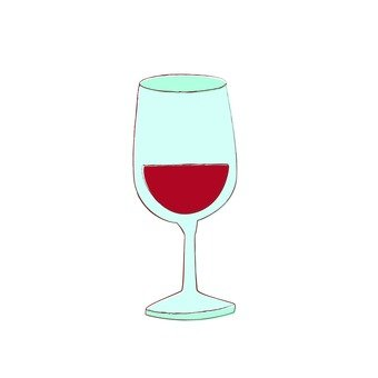 Glass of wine_ red