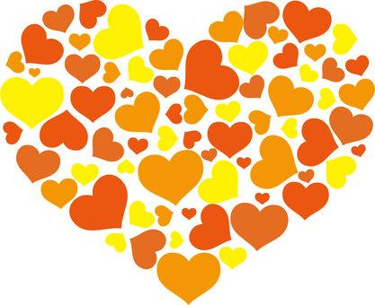 Heart is full (Orange)