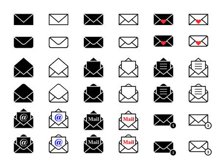 icon_mail set