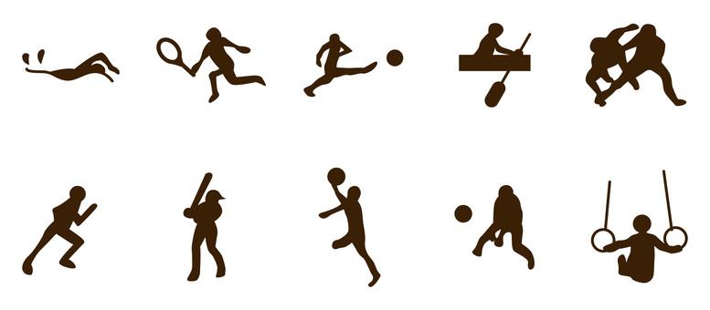229スポーツアイコンセット