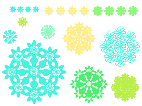 Flower motif 5