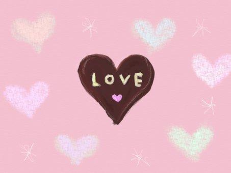Handmade Heart Chocolate