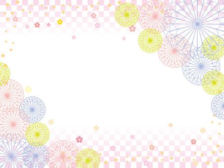 Japanese paper _ flower pattern 4