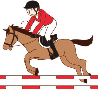 Equestrian / Rider (male)