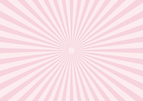 Pastel radiation fine pink
