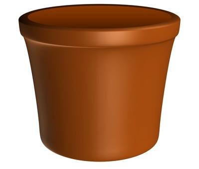 Flowerpot (Brown)