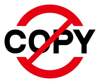 コピー禁止