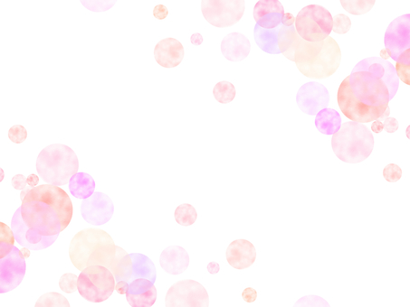 Watercolor style background pink