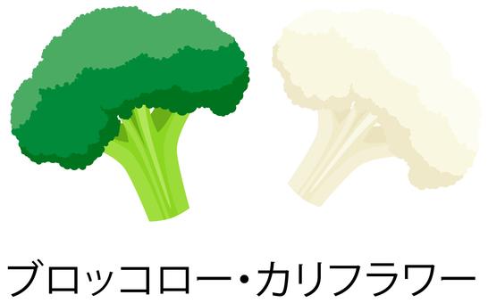 Broccoli · Califlower