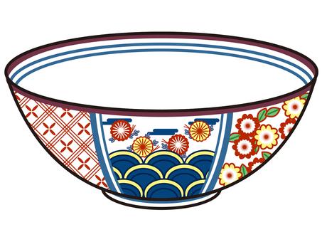 Porcelain / ceramic pot tea bowl