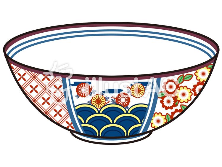 陶器陶磁器のお茶碗飯碗イラスト No 48033無料イラストなら