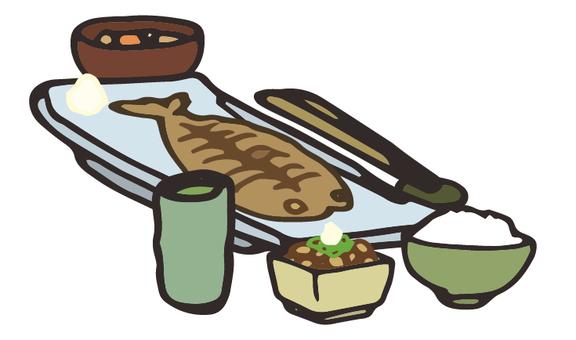 Asian set meal