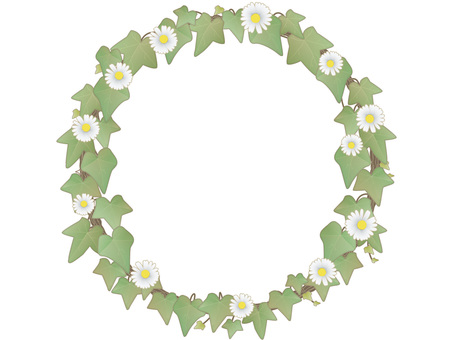 Ivy Circle Frame