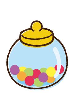 Candy pot