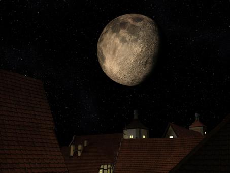 魔法国の月