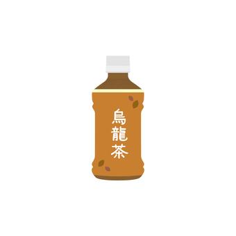 Oolong tea plastic bottle