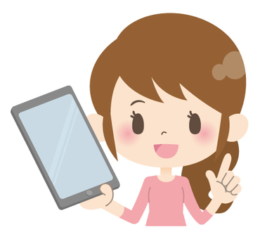 Housewife A * Electronic Equipment _ with tablet