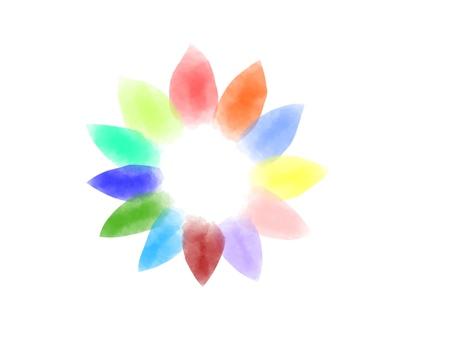 화려한 꽃