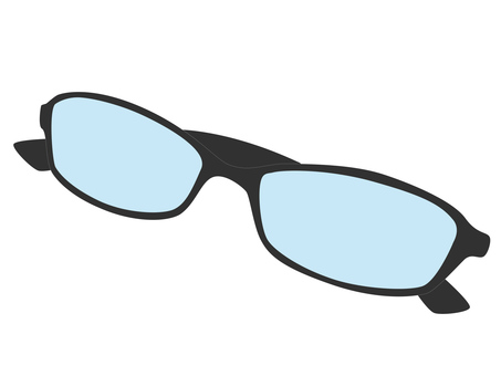 Glasses (black spot)