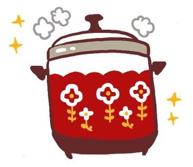 Retro rice cooker