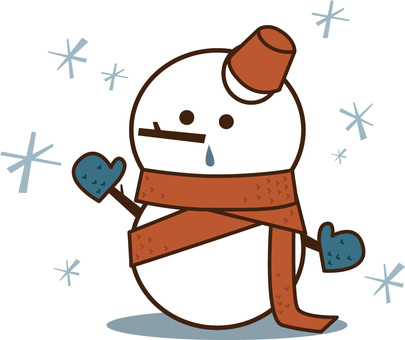 Coldly snowman