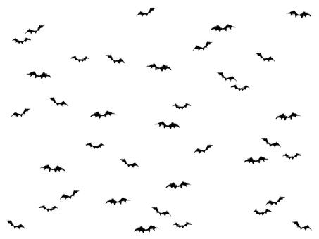 할로윈 오글 박쥐 일러스트