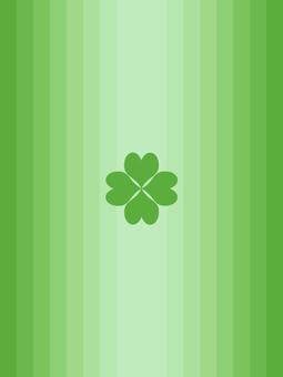 Four leaf clover wallpaper Simple