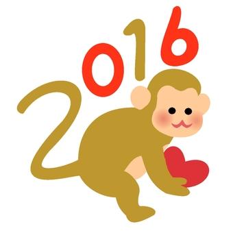 猴2016年的颜色2