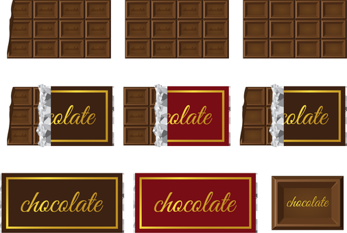 Board chocolate set