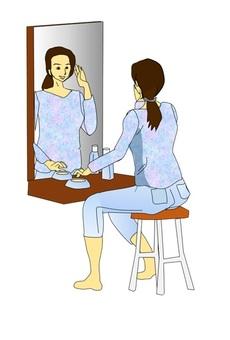 Women in skin care