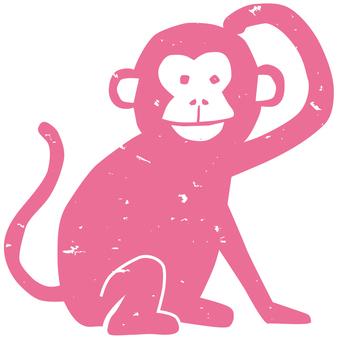 Monkey - pink